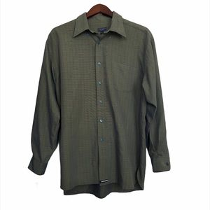 Ted Baker Green Button Up Shirt 3M/Large New